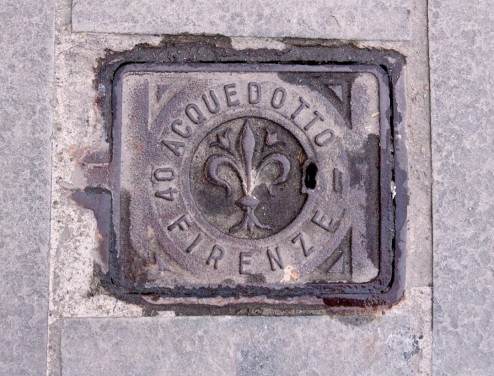 PiazzaCesareBeccaria Art by Dwight Manhole Cover Rubbings World