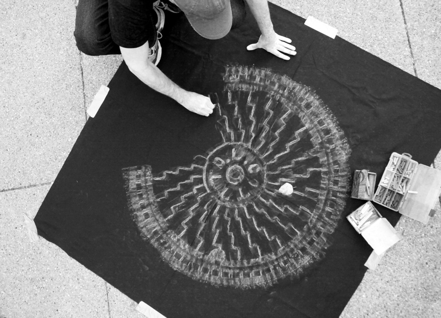 Pittsburgh PA Manhole Cover Rubbing // Art by Dwight